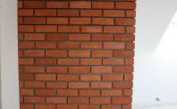 Płytki rustykalne - komin